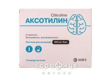 Аксотилин р-р д/ин 500мг/4мл 4мл №10