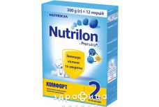 Nutricia нутрилон комфорт-2  сумiш молоч  з 6 мiс 300г