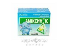Амiксин iс таб в/о 0,06г №10 Імуностимулятори