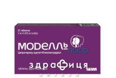 Моделль пьюр таб п/о №21 противозачаточные