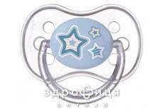Canpol (Канпол) пустышка силикон круглая 0-6мес newborn baby 22/562