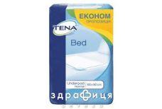 Пеленки TENA (Тена) bed plus 60смх60см №30