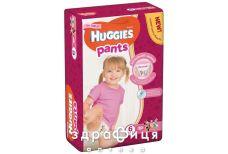 Подгузники Huggies (Хаггис) трусики д/дев р6 (15-25кг) №30