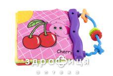 Baby team іграшка-книжка м'яка 9+міс 8720