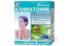 """Фiточай """"ключi здоров'я"""" № 64 1,5 г пакетик """"климатоник (чай д/жiнок)"""" №20"""