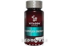 Vitagen b complex+energy капс №60