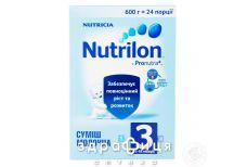 Nutricia (Нутриция) нутрилон-3 смесь молочная с 12 мес 600г
