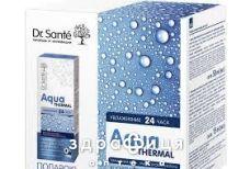 Dr.sante aqua thermal крем д/норм шкіри 50мл+крем навколо очей 15мл