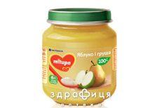 Дитяче харчування Milupa пюре фрукт яблоко/груша з 6міс 100г
