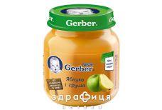 Gerber (Гербер) пюре яблоко/груша с 5 мес 130г 1227251