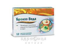 Бронхо веда трав'янi льодяники смак апельсину №12 відхаркувальні засоби, сиропи, таблетки