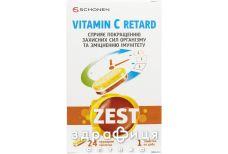 Zest (Зест) вит с ретард таб №24 витамин с