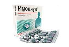 Iмодiум капс. 2 мг №20 ліки від діареї