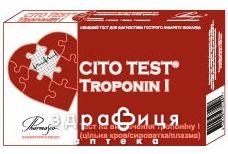 Тест cito test troponin i  на визн тропонiну i