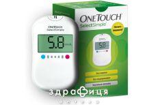 Система контролю рiвня глюкози у кровi one touch select simple