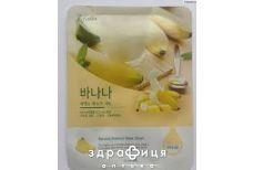 Esfolio pure skin маска ткан.д/лица банановая 23мл