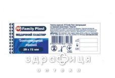Пластир family plast бакт на ткан основi 25х72мм №1
