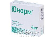 ЮНОРМ Р-Н Д/IН 2МГ/МЛ 4МЛ №5 Імунодепресанти