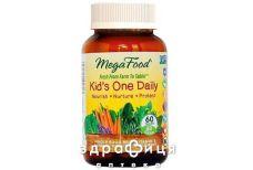 Megafood мультивiтамiни одна таб на день д/дiтей/пiдлiткiв №60 вітаміни для дітей