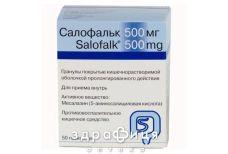 Салофальк гран пролонг 500мг №50 ліки для кишечника