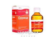 Синекод сироп 1.5мг/мл 200мл от сухого кашля