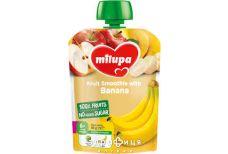 Milupa пюре фруктове яблуко/банан з 6мiс 80г
