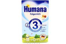 Humana (Хумана) 3 смесь молочная  600г