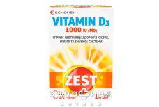 Zest віт d3 капс 1000мо №30 вітамін Д (D)