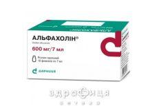 Альфахолин р-р орал 600мг/7мл 7мл №10
