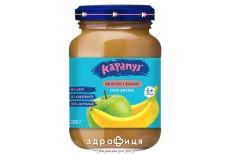 Дитяче харчування карапуз пюре яблуко-банан 200г