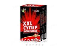 Xxl-супер компл капс (xxl №1 0.3г №4 + xxl №2 0.5г №60) №64 таблетки для шлунка
