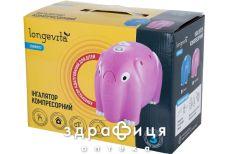 Iнгалятор longevita cnb69012 pink компресорний