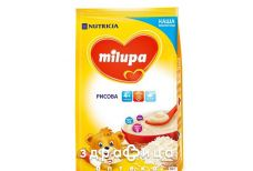 Milupa каша молочна рисова з 6мiс 210г 4440