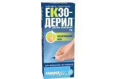 Экзодерил р-р накож 1% 20мл
