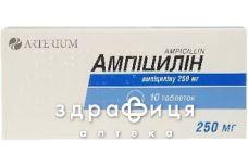 Ампициллин таб 250мг №10