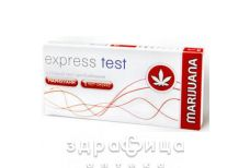 Тест express test д/опред марихуаны полоска №1