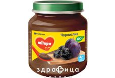 Milupa пюре фрукт чорнослив 125г