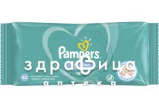 Серветки волог дит pampers fresh clean №52
