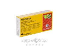 Мiланда таблетки в/о 3 мг/0,03мг №21