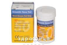 Тест-смужки sensolite nova test  №50