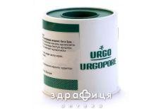 Пластир медичний urgopore 5 м х 5 см