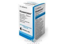 Номiгрен босналек таб №10 таблетки від головного болю