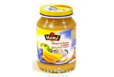 Hame (Хам) пюре яблоко/банан с творогом 190г 1215344