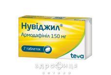 Нувіджил таб 150мг №7 таблетки від запаморочення