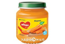Milupa  пюре овощ морква з 4 міс 125г
