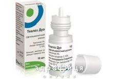 Теалоз дуо р-р офтальмолог 10мл витамины для глаз (зрения)