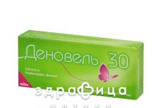 Деновель 30 таб в/о 0,03мг/2мг №21