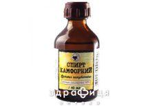Камфорний спирт 10% 40мл от герпеса