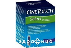 Тест -смужки one touch select уп. 50