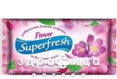 Серветки вологi  superfresh flower №15